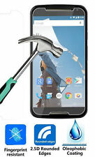 Motorola Nexus 6 Tempered Glass screen protector Tough 9H Ultra clear Oleophobic