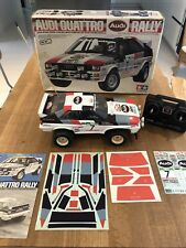 Vintage Tamiya Audi Quattro Rally 5836 - Ultimate Collector's package!