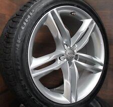 Winterräder für Audi A4 S4 B8 Allroad A5 S5 A6 4F Q3 8U 18 Zoll Alufelgen Silber