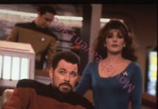 Marina Sirtis Star Trek 35mm SLIDE TRANSPARENCY 6853