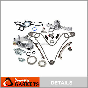 03-09 Toyota 4Runner Tacoma Tundra 4.0L Timing Chain Oil&Water Pump Kit 1GRFE