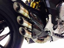 MV Agusta F3 675 / 800 Silmotor Stainless Steel Exhaust Silencer Snake Style Rac