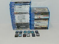Sony PS Vita Games Complete Fun You Pick & Choose Video Game Good Titles