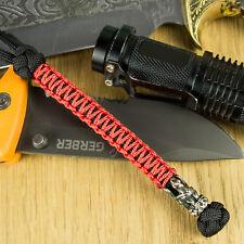 Unique Knife / Compass / Flashlight / Camera Paracord Lanyard Keychain GRIFFON