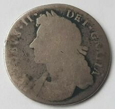 More details for 1685-1688 james ii shilling silver coin