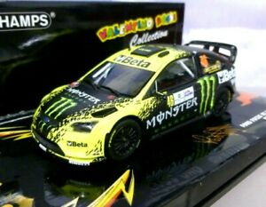 """Minichamps 0.0591cmMONSTER """" Ford Focus Rs WRC 46 Monza Rally 2009 Valentino"""