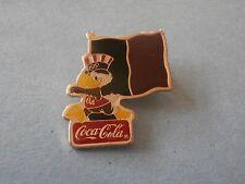 Sam Holding Haiti Flag Coca-Cola 1984 Sponsor Olympic PIN