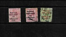 Ireland 1922 provisional government issues, small selection used (I002)