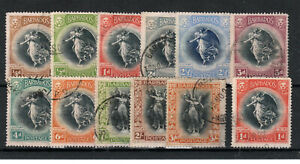 Barbados 1920-21 Victory set to 3s + additional 1d FU CDS