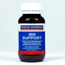 Ethical Nutrients IBS Support Large Size 90 Caps Free post on any extra bottles