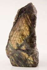6.94 lbs Labradorite  1 Side Polished Display Mineral Specimen Rough A0700