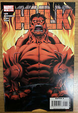 More details for marvel comics hulk  #1 2008 first cover appearance red hulk 1st first print nm-