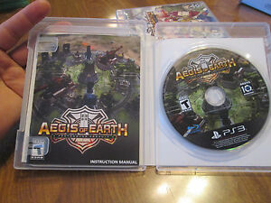Aegis of Earth: Protonovus Assault PS3 Sony GAME NEW BUT OPENED NEVER USED