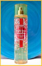 NEW ~Bath & Body Works~ BRIGHT LEMON SNOWDROP ~Fragrance Mist~ 8 oz