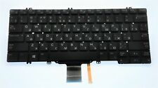 Genuine Dell Latitude 5280 Russian QWERTY Backlit Keyboard 33JVM