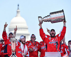 Alexander Ovechkin Washington Capitals Stanley Cup - Unsigned 8x10 Photo
