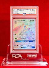 PSA 10 GEM MINT Laurantis GX Hyper Rare (#150/149) Pokémon Sun & Moon Base Set