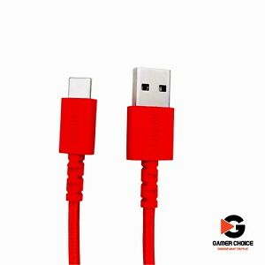 Anker - PowerLine Select+ USB-C to USB-A Cable 6-ft - Red