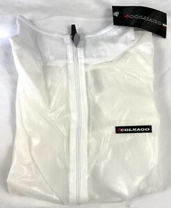 Colnago Clear Wind Vest / Gilet Full Zip Size Large