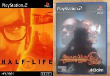 shadow man 2 second coming & half life   PS2 PAL