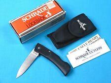 Vintage Old US Schrade + Lightweight Lockback SP3 Folding Pocket Knife