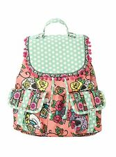 Iron Fist Sweet Tooth Coral Pink Slouch Backpack