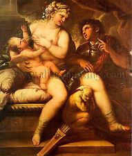 Giordano Luca Italian 1632 1705 artista quadro dipinto olio su tela a mano arte