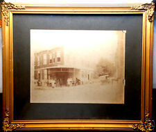 Antique cir.1920's Early Baltimore Photograph, Occupational Grocer - Horse Cart