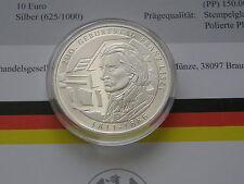 10 Euro Stempelglanz Gedenkmünzen der BRD mit berühmter Persönlichkeit