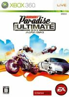 Xbox360 Burnout Paradise The Ultimate Box Japan Game Japanese