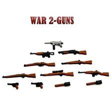 Lego ww2 Lot D'armes Grenade  Fusils Soldat Figurines pack accessoires weapon
