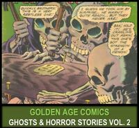 Golden Age MYSTERY HORROR TALES COMICS BOOK Lot DVD Forbidden Worlds Thrills 2