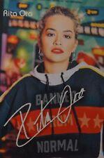 Rita Ora-Autograph-Signed Autograph Autograph Fan Collection Clippings