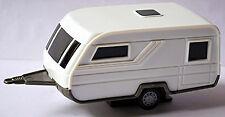 Camping Trailer Caravan Caravan Multipurpose 1990 White White 1:43