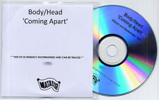 BODY/HEAD Coming Apart UK numbered promo test CD Kim Gordon Sonic Youth