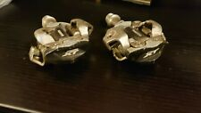 Shimano Deore XT SPD dual sided MTB pedals.