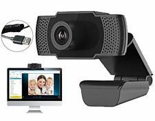 Webcam PC con Micrófono, Web C��mara 1080P, Webcam Portátil para PC, Webcam