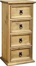 Children's Bedroom Pine 4 Chests of Drawers