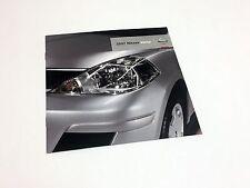 2007 Nissan Versa Launch Preview Brochure