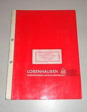 Betriebsanleitung / Teilekatalog Losenhausen Vibromax Rüttler AV 3000