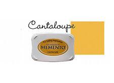 Memento - Dye Ink Pad - CANTALOUPE - Yellow