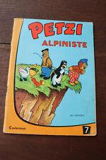 1960 Petzi alpiniste  N°10 Hansen Casterman BD Jeunesse