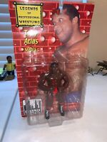 Legends of Professional Wrestling Series 5 BLOODY Tony Atlas Action Figure 2000