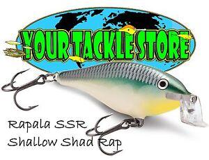 Rapala SSR05 Shallow Shad Rap Pick Colors & Quantity NIP