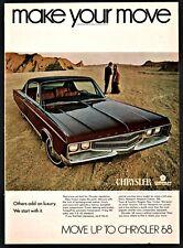 1968 CHRYSLER New Yorker 2-door hardtop Vintage Car Photo AD