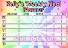 Weight Loss Meal planner inc pen Slimming world Weight watchers