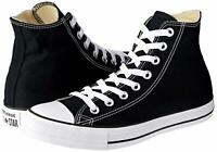 Converse Womens ctas hi Hight Top Lace Up Fashion Sneakers, Black, Size 8.0 iZ9J