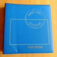 Post Office Empty FDC Album (4 Ring Album) Blue