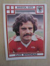 Clive Whitehead Football 78 Panini Sticker