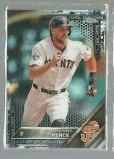 2016 Topps Chrome Refractors #167 Hunter Pence (ref55921)